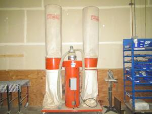 CORAL VERTICAL BAG DUST COLLECTOR MODEL GAM 2C