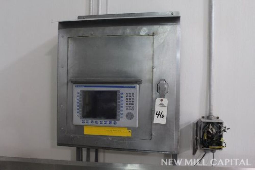 Stainless Steel Control Cabinet, W/ Allen Bradley Panelview
