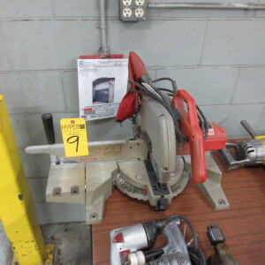 "Milwaukee 10"" Magnum Compound Miter Saw, 120 V, 15A"