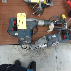 Bosch Hammer Drill and Bosch Sawall