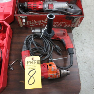 (2) Milwaukee Drills