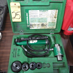 Greenlee 767 Punch Set