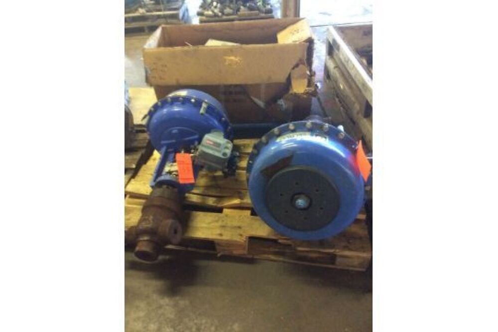 Lot of two assorted CCI Drag Control Valves with actuators
