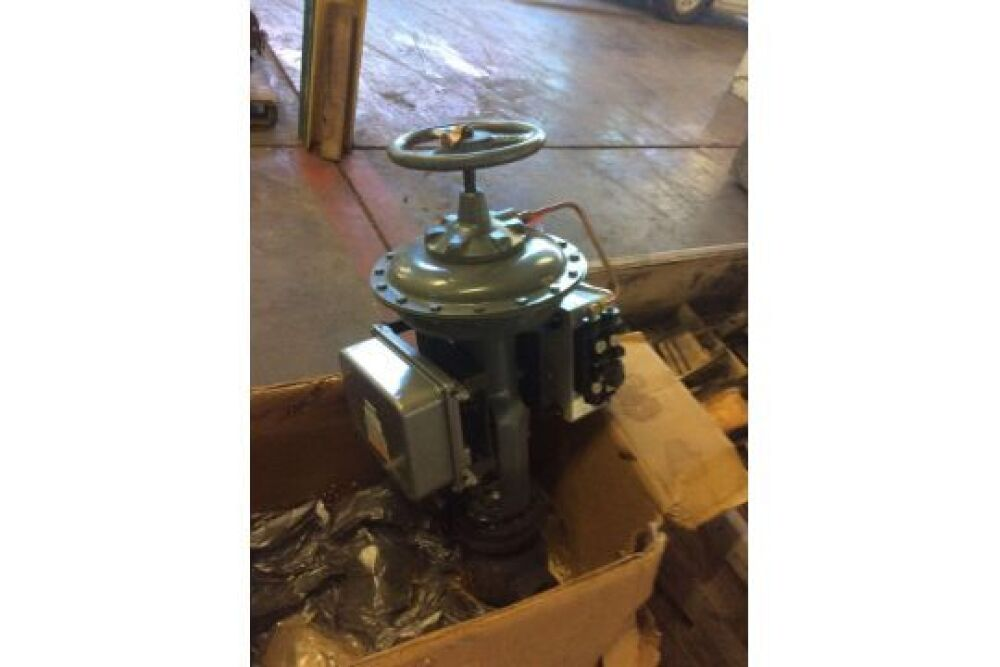 Fisher valves with actuators, type 657, serial no 11897435