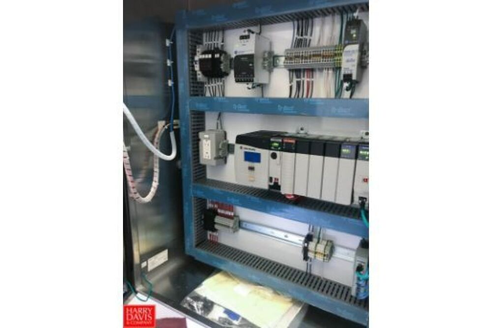 Allen Bradley Logix 5572 PLC with Panel View Plus Controller and S/S