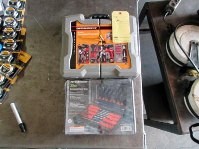 LOT CONSISTING OF: (161 pc.) tool set & (32 pc.) screwdriver set (new in box)