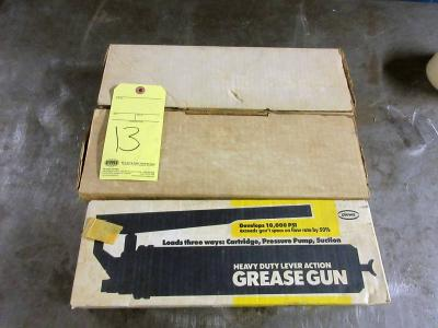 LOT OF GREASE GUNS (3) (new in box)