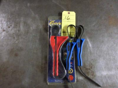 LOT OF STRAP WRENCHES (3)