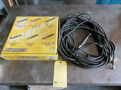 LOT OF TIG TORCHES (2), PROFAX MASTER RIGS MDL. 20-25R