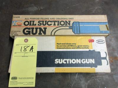 LOT OF SUCTION GUNS (2)