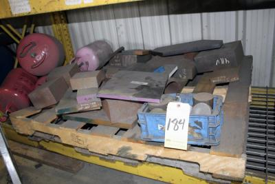 LOT OF RAW MATERIAL: tool steel