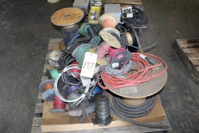 LOT OF ELECTRICAL WIRE