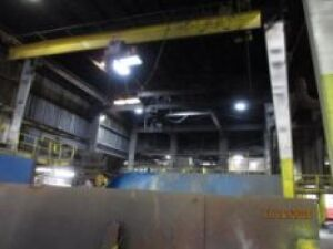 Spacemaster 5 Ton Single-Girder Underhung Bridge Crane, with Pendant (LOCATED IN COLUMBIANA, AL)
