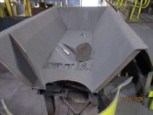 Vibratory Weigh Hopper on Stand, 72 in. x 10 ft. (LOCATED IN COLUMBIANA, AL)