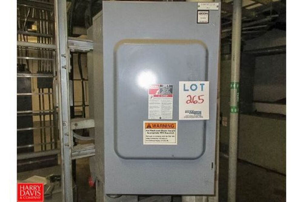 Federal Pioneer Electrical Power Switch 200 Amp, 600 Volts