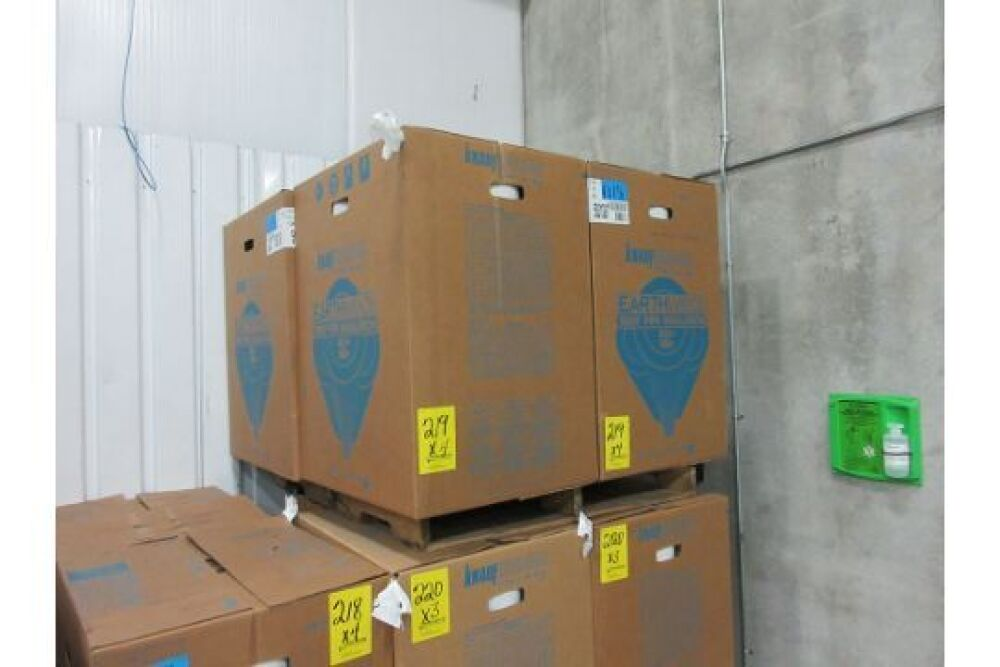 BOXES OF KNAUF INSULATION PIPE INSULATION