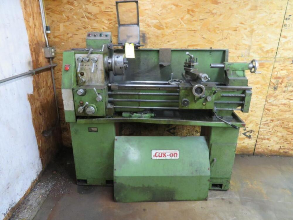 Lux-On Engine Lathe Model 1337, S/N 851020