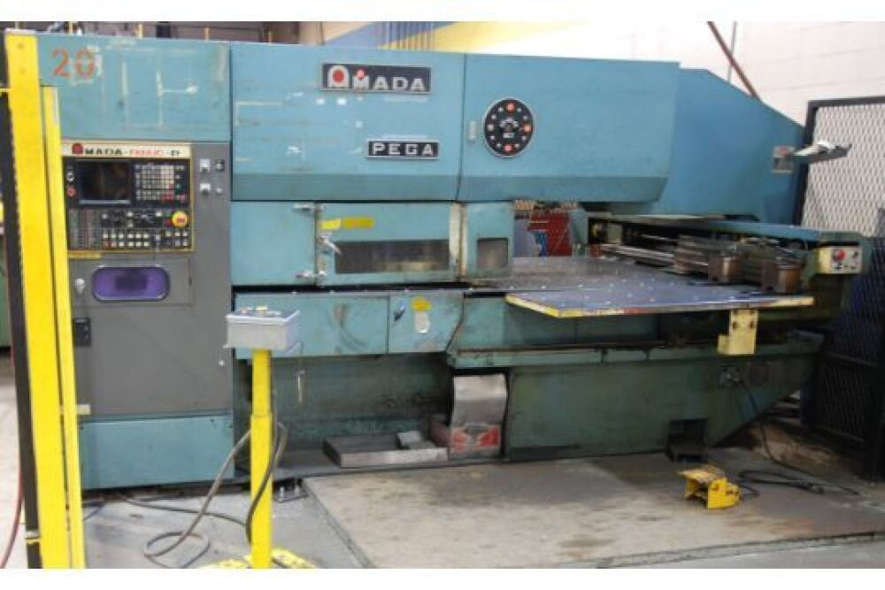 AMADA PEGA-204040 NC Turret Punch Press, s/n P2440052, 20