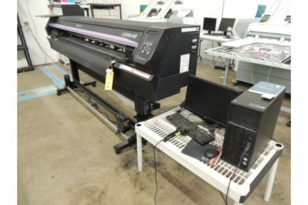 2015 Mimaki CJV150-160 Roll Fed Canvas & Vinyl Printer, S/N T356B848
