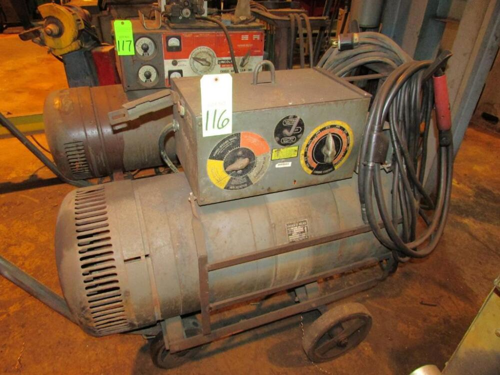 Lincoln Electric Model Sae 300 Torpedo Welder