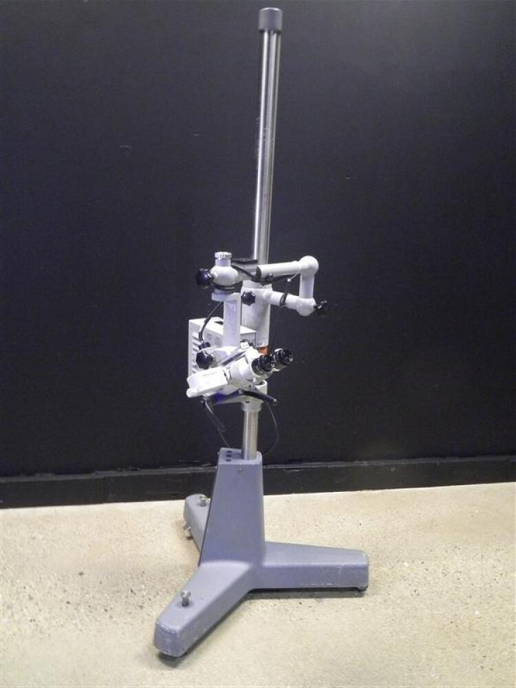 CARL ZEISS OPMI 1-FC SURGICAL MICROSCOPE TO INCLUDE SINGLE