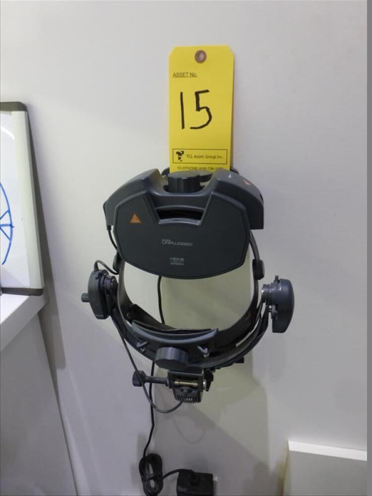 Heine Omega 500 unplugged binocular indirect ophthalmoscope