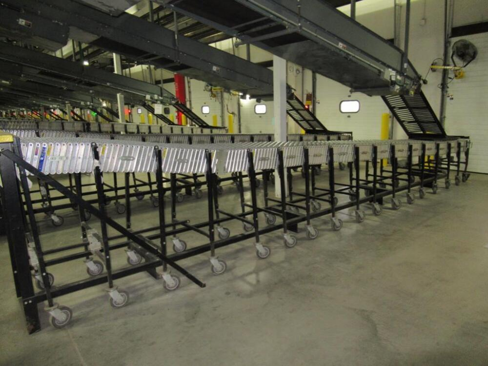BEST FLEX FLEXIBLE PORTABLE CONVEYOR 24