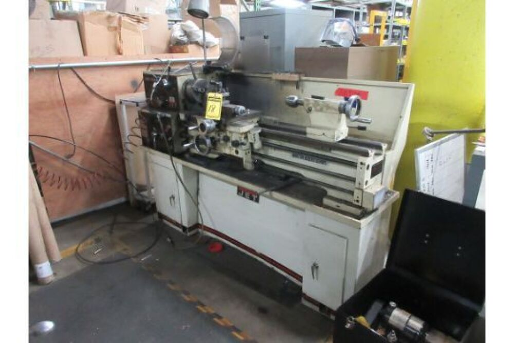 JET EQUIP & TOOLS GEARED HEAD PRECISION LATHE