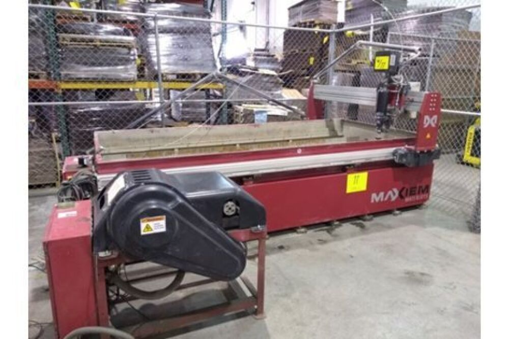 2011 OMAX MAXIEM 1530 WATER JET CNC CUTTING MACHINE, Outside