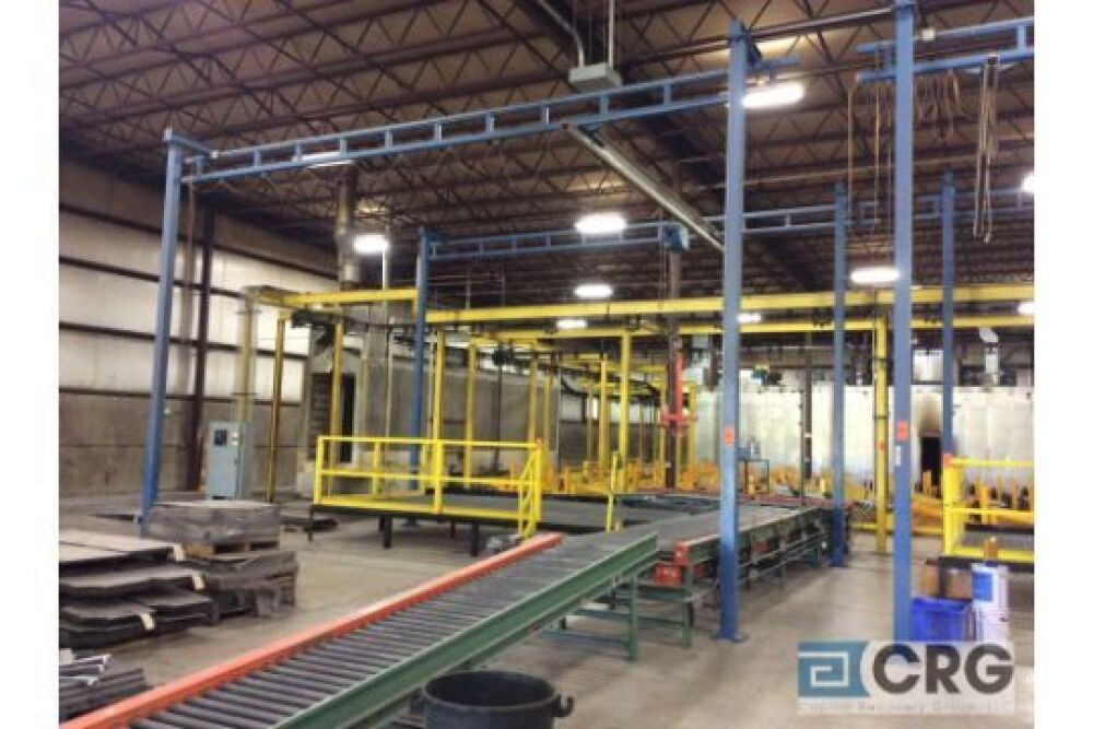 Gorbel approx 24' long x 20' wide x 16' high crane, 300 lb