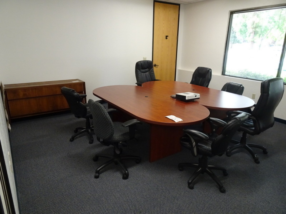 Credenza Conference Room : Lot consisting of contents conference room halong bay ; 2 wood